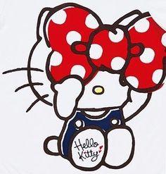 Hello Kitty  ( ̄3 ̄)  big bow