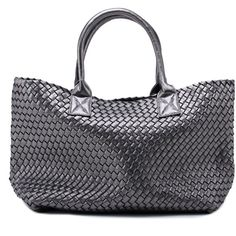 Amazon.com  New Women s Faux Woven Leather Fashion Celebrities Tote... ( d90067adb3b