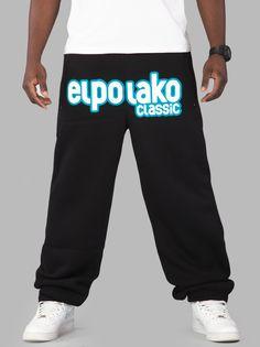 Front Classic Black - El Polako - Urban City - skateshop, streetwear, Hip Hop odzież z USA, Europy i Polski