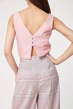 Fashionoutfit Women/'s Bride Avant Bustier Détail rayonne Spandex Crop Top