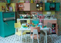 https://flic.kr/p/7Y2jKC | Retro Kitchen Diorama