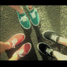 Festival shoes in different colors! #Vans #musicfestival #concert