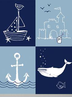 Items similar to Nautical baby boy Baby shower baby girl Ocean Nursery Decor Sailboat whale Baby gift Son adoption Pushpresent First bithday Baptism on Etsy Ocean Nursery, Nursery Wall Art, Nursery Decor, Baby Decor, Kids Decor, Little Boy Bathroom, Beach Kids, Nautical Baby, New Baby Gifts