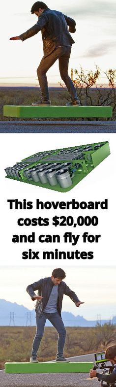 ArcaBoard This hoverboard costs $20,000 and can fly for six minutes