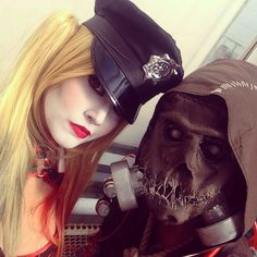 Harley Quinn and Scarecrow