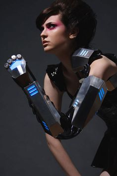 Wow! cyber punk // gladiator armour - Awesome !!! from BionicConcepts / etsy