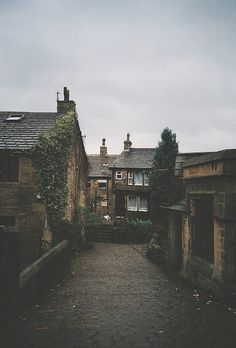 Haworth | England  Such a gorgeous village! Brontë sisters wrote their famous works there.