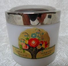 Langlois Cara Nome Vanity Cream Jar~Lovely! from glorybee on Ruby Lane