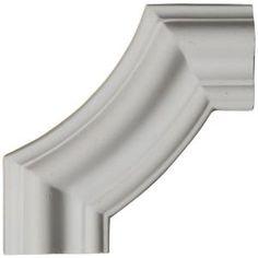 Ekena Millwork, 4 in. x 3/4 in. x 4 in. Polyurethane Seville Panel Moulding Corner, PML04X04SE at The Home Depot - Tablet