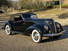 1937 Ford Convertible by Darrin Ford V8, Custom Cars, Cars And Motorcycles, Convertible, Antique Cars, Classic Cars, Automobile, Vehicles, Lincoln