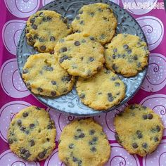 Chocolate Chips, Chocolate Chip Cookies, Coconut Flour, Muffin, Low Carb, Keto, Breakfast, Sweet, Desserts