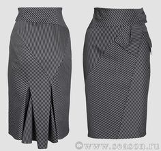 Thinking about sewing an asymmetrical skirt in a menswear fabric.