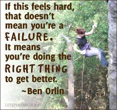 """Today's quote is from Ben Orlin's blog post """"Learning to rock-climb is changing how I'll teach math."""" Background photo courtesy of Jason Kasper (CC BY 2.0) via Flickr."""