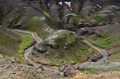 Island Bilder: Fotos von Landschaft und Natur auf Island - Hochland, Jökulsarlon, Landmannalaugar, Kerlingarföll, Veidivötn, Luftbilder, Wasserfälle, Küste, Vulkane | David Koester Photography