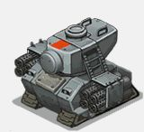 Veh tank basilisk front attack Battle City, Advance Wars, Game 2d, Space Games, Tower Defense, Military Units, Character Sketches, War Machine, Dieselpunk