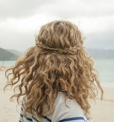 Show off your curls with this hairstyle.