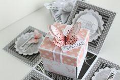 Explosion box instead of Birthday card