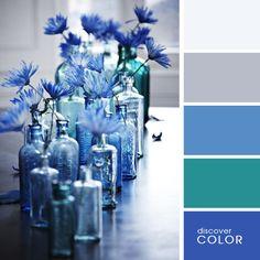 Синие цветы | DiscoverColor.ru (Blue Flowers)