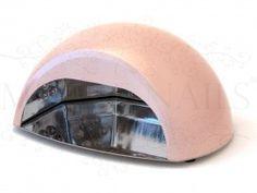 Lampen er kompakt og har en metallisk rosa farge. Revolusjonerende ! CCFL Led UV Nagel Lamp Pro 15 W Myk Rosa LED- lampen er generelt dyrere i innkjøp , men har en lengre levetid og forkorter herdings tid, betraktelig . Nail Art, Led, Nail Arts, Art Nails