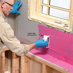 Apply a Waterproof Coating - 17 Modern Tile Installation Tips: http://www.familyhandyman.com/tiling/tile-installation/modern-tile-installation-tips