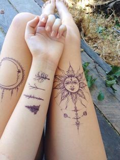 """wanderlust-wild-child: """" Tattoos are works of art, to help tell a story  """""""