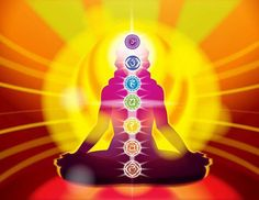 The seven Chakras are our energy centers. They are the openings for life energy to flow into and out of our aura.