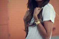 Gold + Tan + Teal