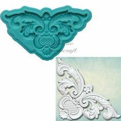 "Prima Marketing Re-Design Mould 5/""X8/""X8mm Divine Floral 655350645403"