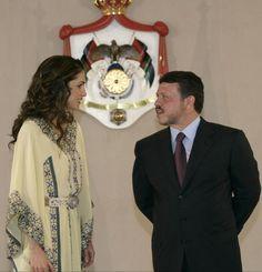 King Abdullah & Queen Rania