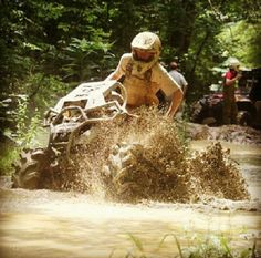 Mud ATV Racing