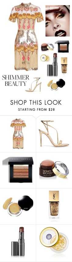"""""""Fall Beauty Trend"""" by kotnourka ❤ liked on Polyvore featuring beauty, Temperley London, Gianvito Rossi, Bobbi Brown Cosmetics, David Jones, Yves Saint Laurent, Chantecaille and Tatcha"""