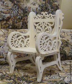 Кукольный дом ручной работы. Ярмарка Мастеров - ручная работа. Купить Кресло для куклы. Handmade. Кукла, кресло, сувенир, подарок
