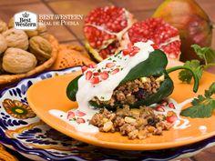 Disfrute de la exquisita comida poblana. EL MEJOR HOTEL EN PUEBLA. En Best Western Hotel Real de Puebla, podrá disfrutar de los platillos típicos más deliciosos que caracterizan a nuestro estado en nuestro Restaurante Talavera. Le esperamos para que venga a deleitarse con las delicias de nuestra gastronomía. #bestwesternhotelrealdepuebla