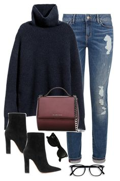 """Untitled #2831"" by theaverageauburn on Polyvore featuring Tommy Hilfiger, Givenchy, Gianvito Rossi and Ray-Ban"