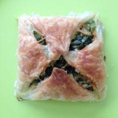 Amber Alberda recept voor spinazie pakketjes met feta