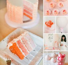 This beautiful Pastel, Pink & Ombre Dessert Table styled and dreamed up by Melissa Johnson of Best Friends For Frosting is a wonderland of PRETTY! #Pink #DessertTable http://hwtm.me/182IAVG