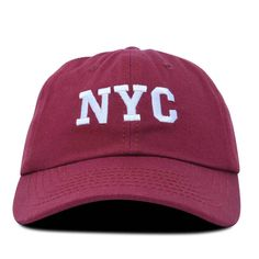 b781ad667f5 DALIX NY Baseball Cap NYC Hat New York City Cotton Twill Dad Hat