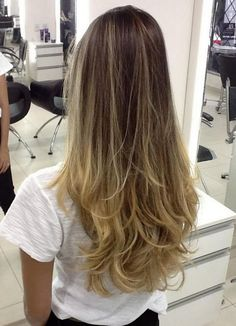 Cabelo – Ombré Hair (loira, morena e negra)