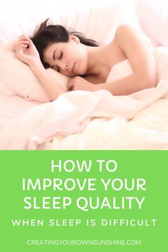 Sleep deprivation is awful and it effects every aspect of your life. Getting good quality sleep will help to make life feel more manageable and this article will give you 15 tips to improve it.#RHEUMATOIDARTHRITIS #RHEUM #CHRONICILLNESS #SLEEP #SLEEPQUALITY #SLEEPING How To Sleep Faster, Sleep Better, Sleep Paralysis, Before Sleep, Sleep Quality, Health Articles, Health Resources, Health And Wellbeing, Mental Health