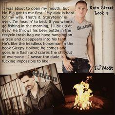 Rain Street, Mr Big, Going Fishing, My Mouth, My Books, Facebook
