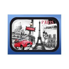Tray with Eiffel Tower, Paris monuments and red car http://www.eiffel-tower-forever.com/en/trays/34-tray-with-eiffel-tower-paris-monuments-and-red-car.html