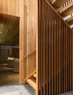 How a Hahei beach house balances enviable views with private living Concrete Floors, Luxury Interior, Stairways, House Tours, Beach House, Cool Designs, Flooring, Interiors, Natural Forms