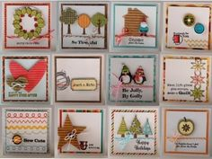 Mini Cards = Too Cute by arlene