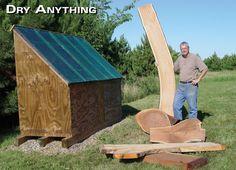 Solar Kiln - Woodworking Projects - American Woodworker @Jacob McPherson McPherson McPherson Ridley