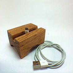 Wood iPhone 5/5s Listening Dock www.myaudiotree.com