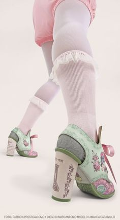 Marie Antoinette Shoes by Hot Chocolate Design