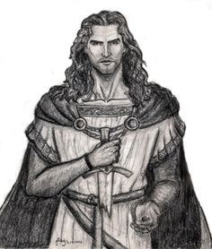 Isuldur, by Marta Aguado, Rolozo Tolkien