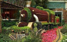 Erdemli Çin bahçelerinin Görüntüleri