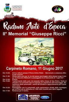 """II Memorial """"Giuseppe Ricci"""" - Carpineto Romano"""