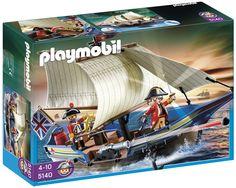 Afbeelding van Playmobil Pirates 5140 Britse kanonboot from ColliShop